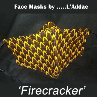 EFIE Living Style Face Masks by LAddae - Firecracker